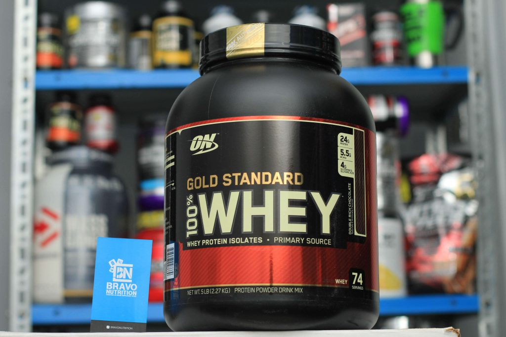 32a8a6fa0 Optimum Nutrition 100% Gold Standard Whey 5lbs is a complete protein  supplement for post workout sessions. It contains all the key amino acids  either ...
