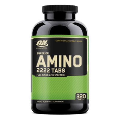 Optimum Nutrition Superior Amino 2222 320 Tablets in Pakistan, Karachi, Lahore, Islamabad at Bravo Nutrition