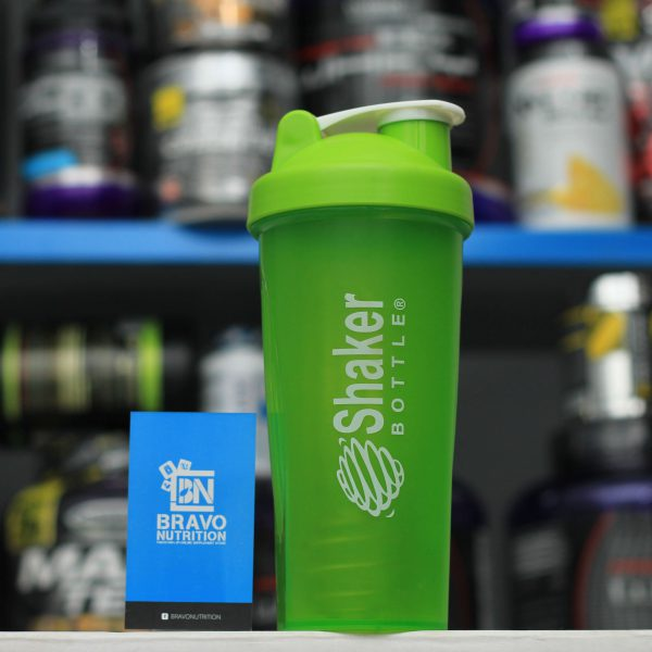 Shaker Bottle with Spring Ball in Pakistan, Karachi, Lahore, Islamabad – Plain Shaker Bottle by Bravo Nutrition
