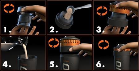 Pro 40 Shaker Bottle