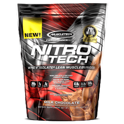 Muscletech Nitro Tech 1 Lb in Pakistan, Karachi, Lahore, Islamabad at Bravo Nutrition