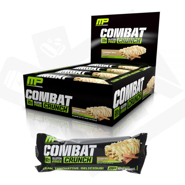 Combat Crunch Bar in Karachi, Lahore, Islamabad and Pakistan by Musclepharm from Bravo Nutrition