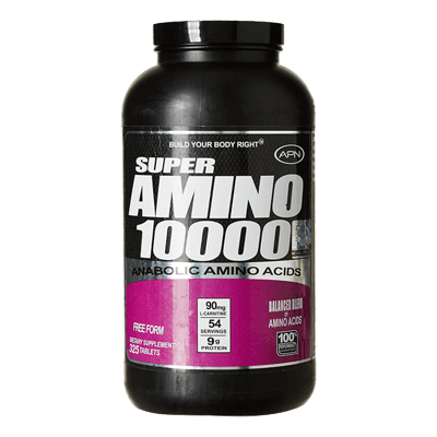 APN Super Amino 10000 325 Tablets in Pakistan, Karachi, Lahore, Islamabad at Bravo Nutrition