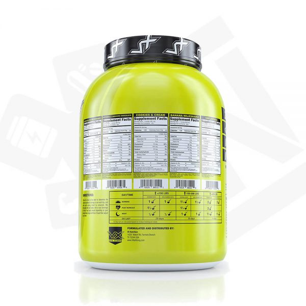 VitaXtrong 100% Real Whey 5Lbs Supplement Facts