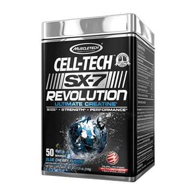 Muscletech Cell Tech SX-7 Revolution 50 Servings in Pakistan, Karachi, Lahore, Islamabad at Bravo Nutrition