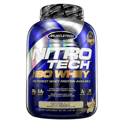 Muscletech Nitro Tech ISO WHEY 5 Lbs in Pakistan, Karachi, Lahore, Islamabad at Bravo Nutrition 2