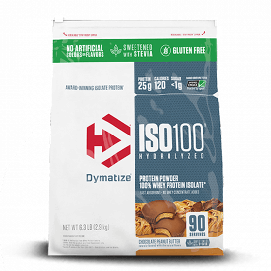 Dymatize Nutrition ISO100 Hydrolyzed Stevia 6Lbs in Pakistan, Karachi, Lahore, Islamabad at Bravo Nutrition