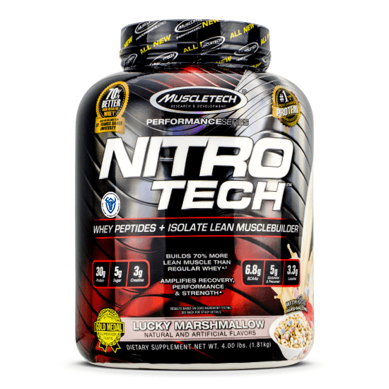 Muscletech Nitro Tech 4Lbs in Pakistan, Karachi, Lahore, Islamabad at Bravo Nutrition
