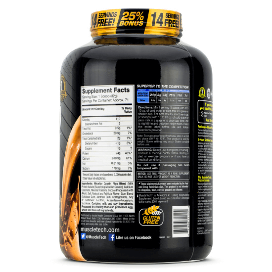 Muscletech Nitro Tech Casein Gold 1
