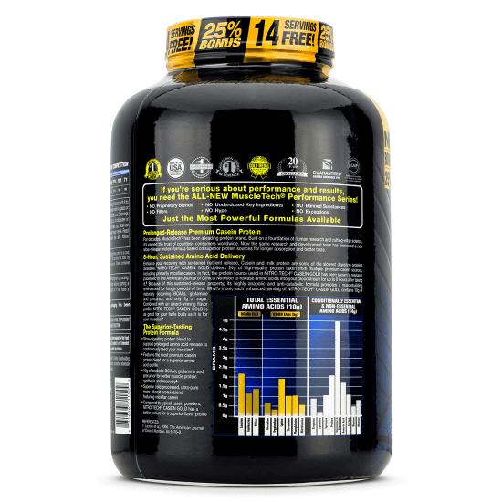 Muscletech Nitro Tech Casein Gold 2